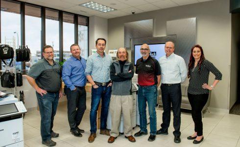 Copier Sales Team